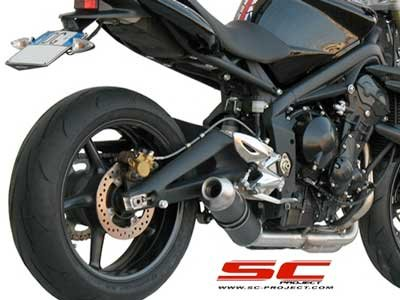 Triumph Street Triple Low Mount GP-EVO FS