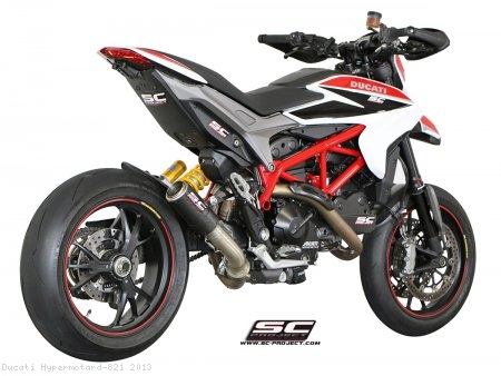 CR-T Exhaust by SC-Project Ducati / Hypermotard 821 / 2013