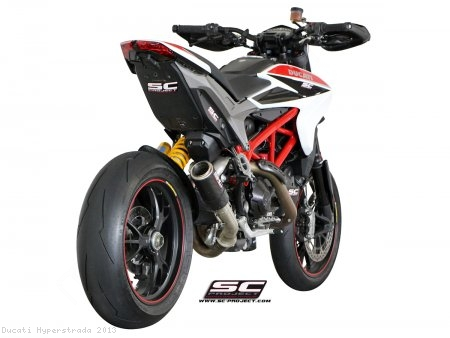 CR-T Exhaust by SC-Project Ducati / Hyperstrada / 2013