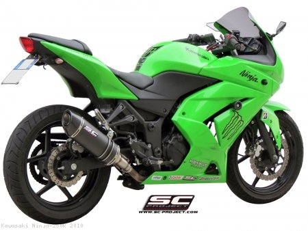 Oval Exhaust by SC-Project Kawasaki / Ninja 250R / 2010 (K12-12)