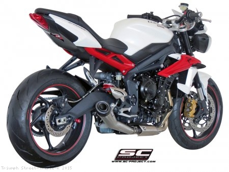 Conic Exhaust by SC-Project Triumph / Street Triple R / 2015