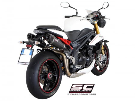 Dual Carbon Conic High Mount Exhaust by SC-Project