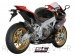 Race Oval Exhaust by SC-Project Aprilia / RSV4 R / 2013
